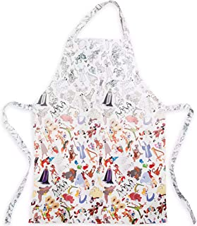 DisneyParks Ink & Paint Cotton Adult One Size Apron