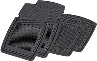 Koolatron 19927 PantsSaver Black New Generation Car Mat Set - 4 Piece