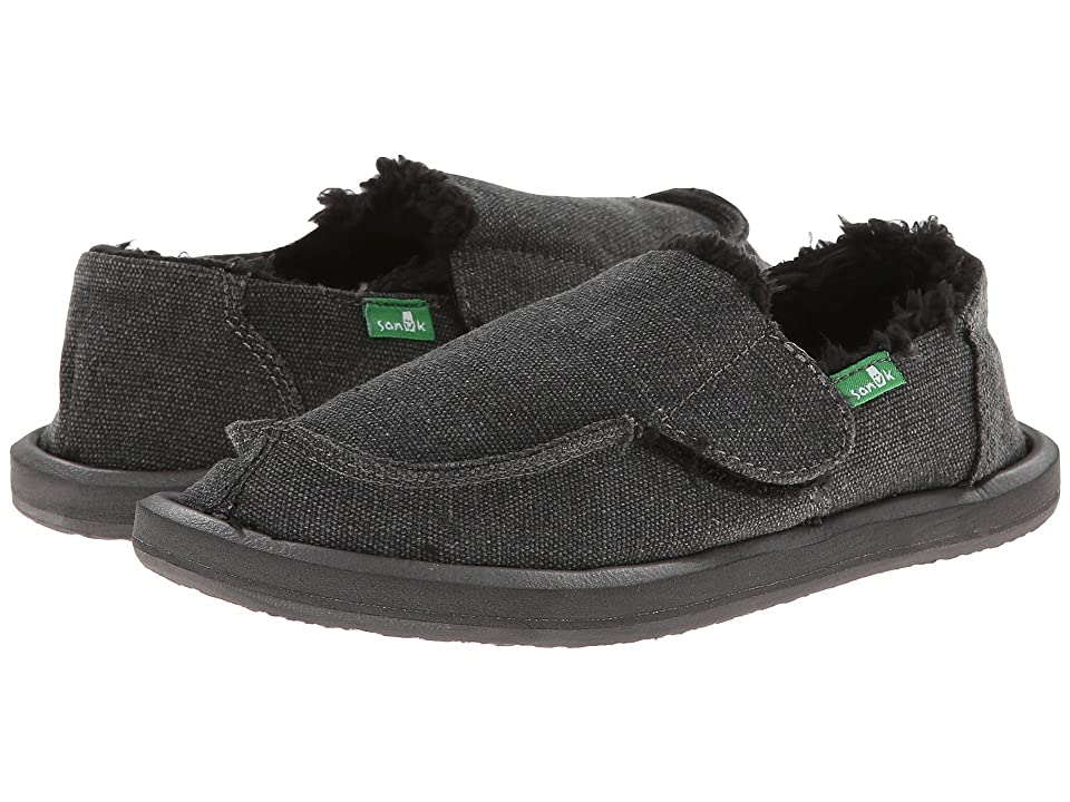 Sanuk Kids Vagabond Chill (Toddler/Little Kid) (Charcoal) Boys Shoes