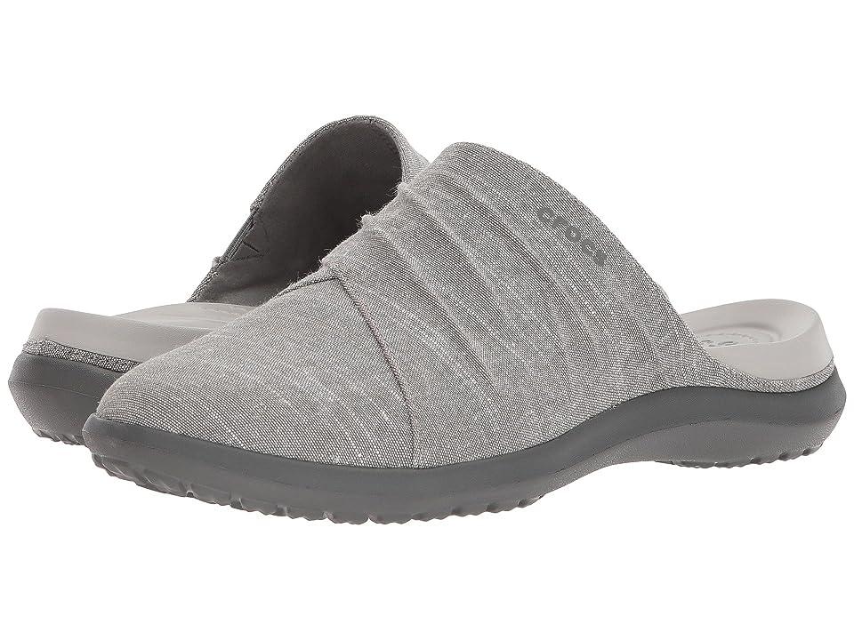 Crocs Capri Mule (Smoke/Slate Grey) Women