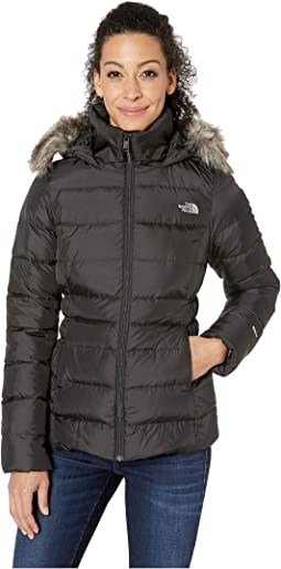 247764a3a Tommy hilfiger long quilted down coat w faux fur trim black + FREE ...