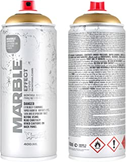 Montana Cans Marble Effect Spray Paint, 400ml, Gold