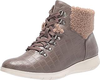 Aerosoles Women's Frankie Ankle Boot, Grey Croco, 6