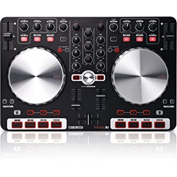 Reloop Beatmix Beginner-Friendly DJ Controller for Virtual DJ, Black (BEATMIX)