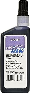 Koh-I-Noor Dye-Based Universal Drawing Ink, 0.75 Ounce Bottle, Violet (3080F.VI0)