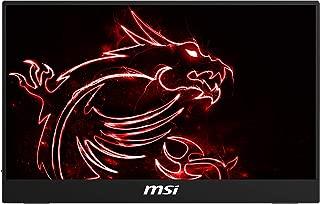 MSI Frameless Bezel Glass Surface 1920 x 1080 USB/HDMI Smart Cover Included IPS Portable Monitor (Optix MAG161V)