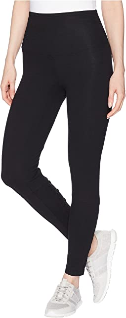 Ankle Leggings with Faux Lace-Up