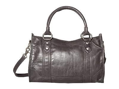 Frye Melissa Satchel (Carbon) Satchel Handbags