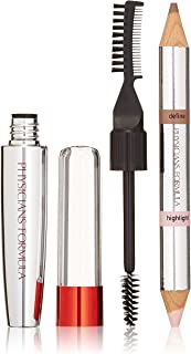 Physicians Formula Eye Booster 4-in-1 Brow Boosting Kit, Universal Brown, 0.58 Ounce