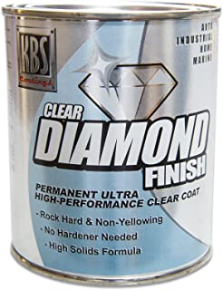 KBS Coatings 8304 DiamondFinish Clear Coat Pint, 16. Fluid_Ounces