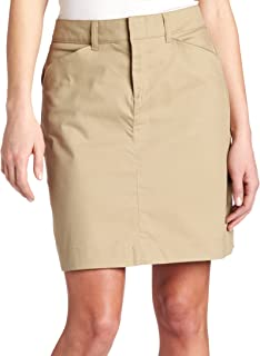 Women's 20 Inch Stretch Twill Skirt
