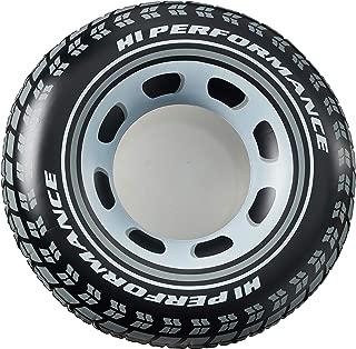 Intex B01N0I7CX9 Giant tire Tube (36 Inches) (4-Pack), Black