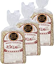 product image for Amish Country Popcorn | 3 - 2 lb Bags | Medium White Popcorn Kernels | Old Fashioned with Recipe Guide (3 - 2 lb Bags)