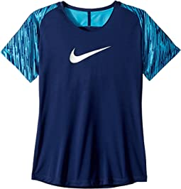 Nike Kids Dry Academy Short Sleeve Soccer Top (Little Kids/Big Kids)