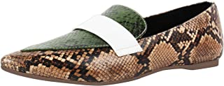 Catwalk Women's Snake Print Dua Tone Loafers