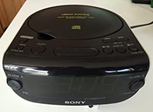 Sony ICF-CD815 AM/FM Stereo CD Clock Radio with Dual Alarm (Discontinued by Manufacturer)