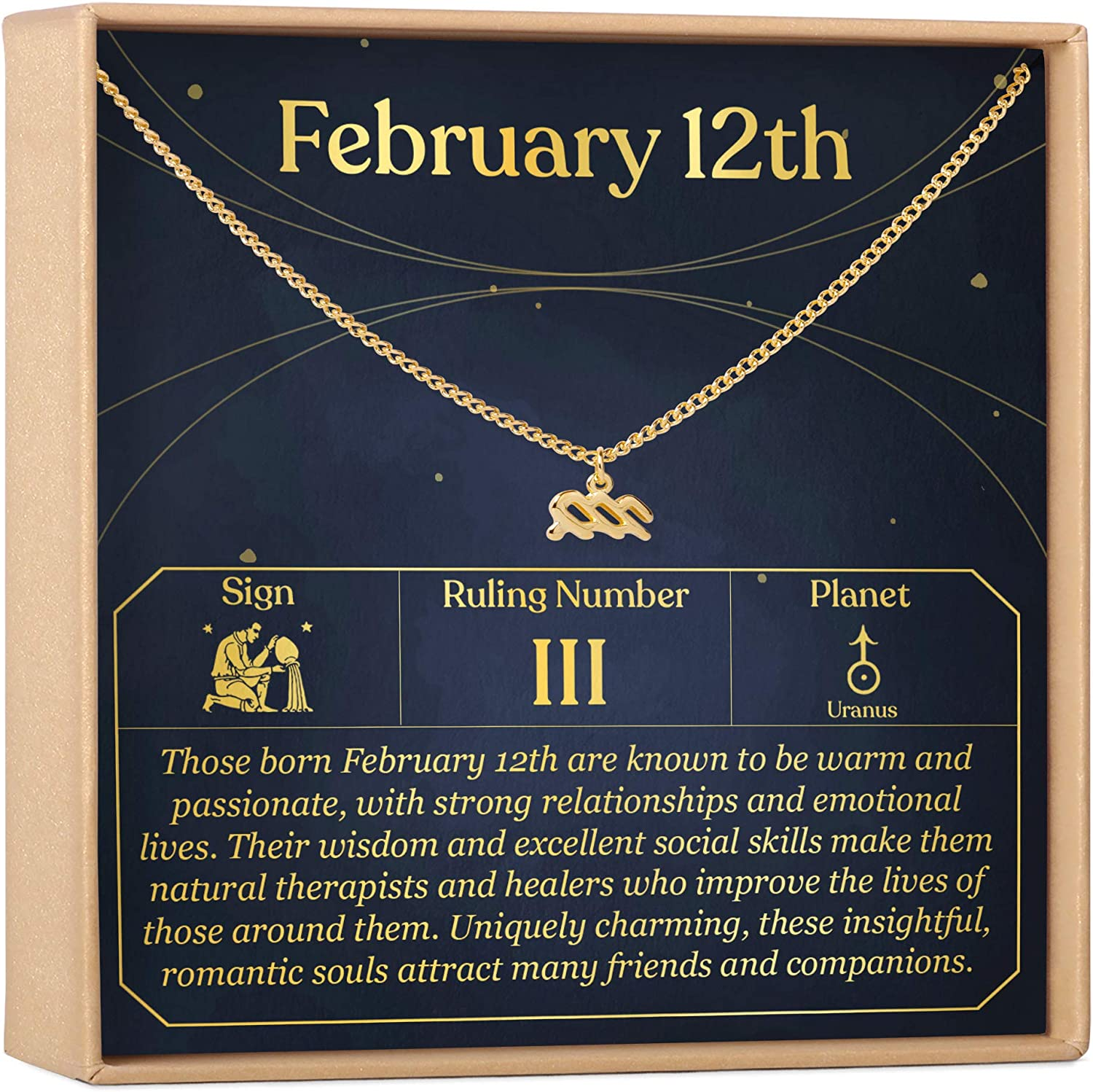 February 12th Necklace Present for Celebration f Gift Discount is also underway Excellent Birthday