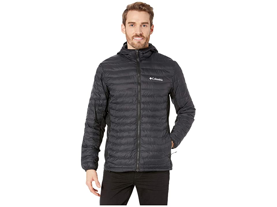 Columbia Powder Passtm Hooded Jacket (Black) Men