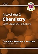 A-Level Chemistry: OCR B Year 2 Complete Revision & Practice with Online Edition