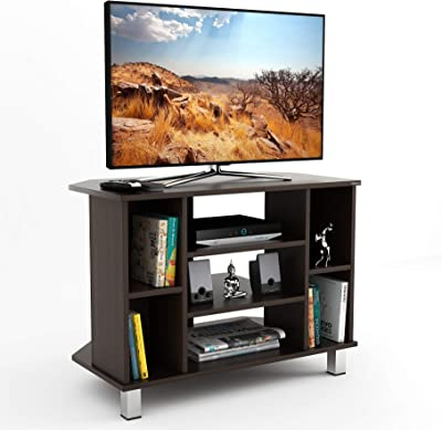 """BLUEWUD Gautier Engineered Wood TV Entertainment Unit Cabinet with Storage for Living Room -Ideal for Upto 32"""" Tv (Wenge Finish)"""
