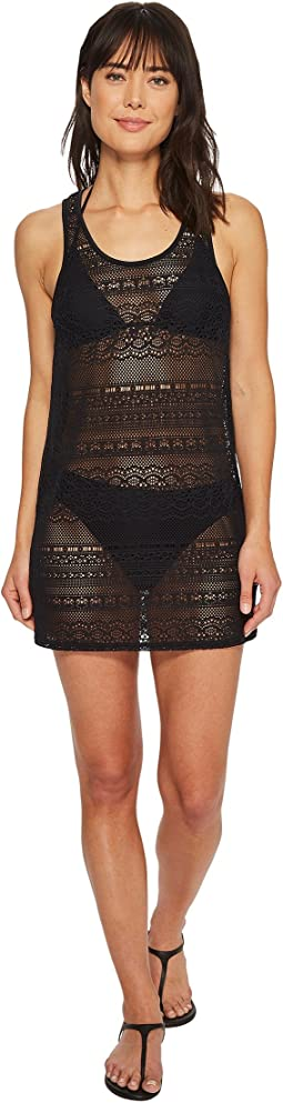 Roxy Surf Memory Crochet Dress Cover-Up