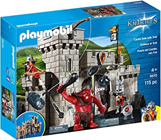 Playmobil Caballeros 5670 Playset Puerta del Castillo con