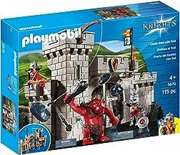 Playmobil Caballeros 5670 Playset Puerta del Castillo con Troll
