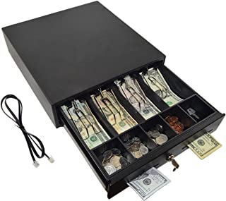 78KST330 Mini Cash Drawer with RJ12 POS Connection, 2 Keys Included by SciencePurchase