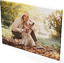 LolaPix Lienzo Foto Personalizado. Regalos Personalizados con Foto. Bastidor de Madera. Tinta Ecológica. Varias Medidas. 20X30cm