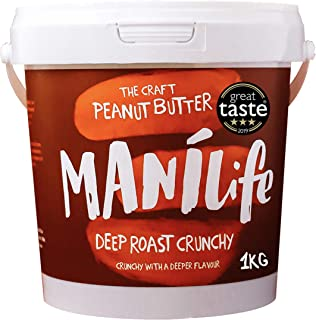 ManiLife Mantequilla de Cacahuete - Peanut Butter - Natural