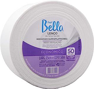 Rolo Lenço Tnt Depilatório, Depil Bella, 50 M