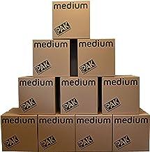 StorePAK Średnie pudełka do przechowywania - archiwalne pudełka kartonowe z uchwytami, 64 l - 100% nadają się do recykling...
