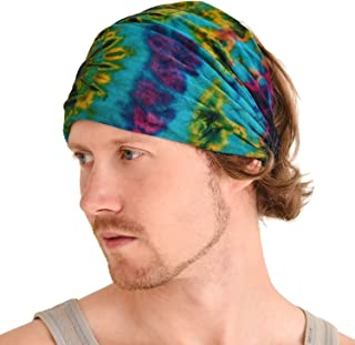 Casualbox | Tie-Dye Headband Bandana Boho Hippie Retro Flower psychedelic 60's