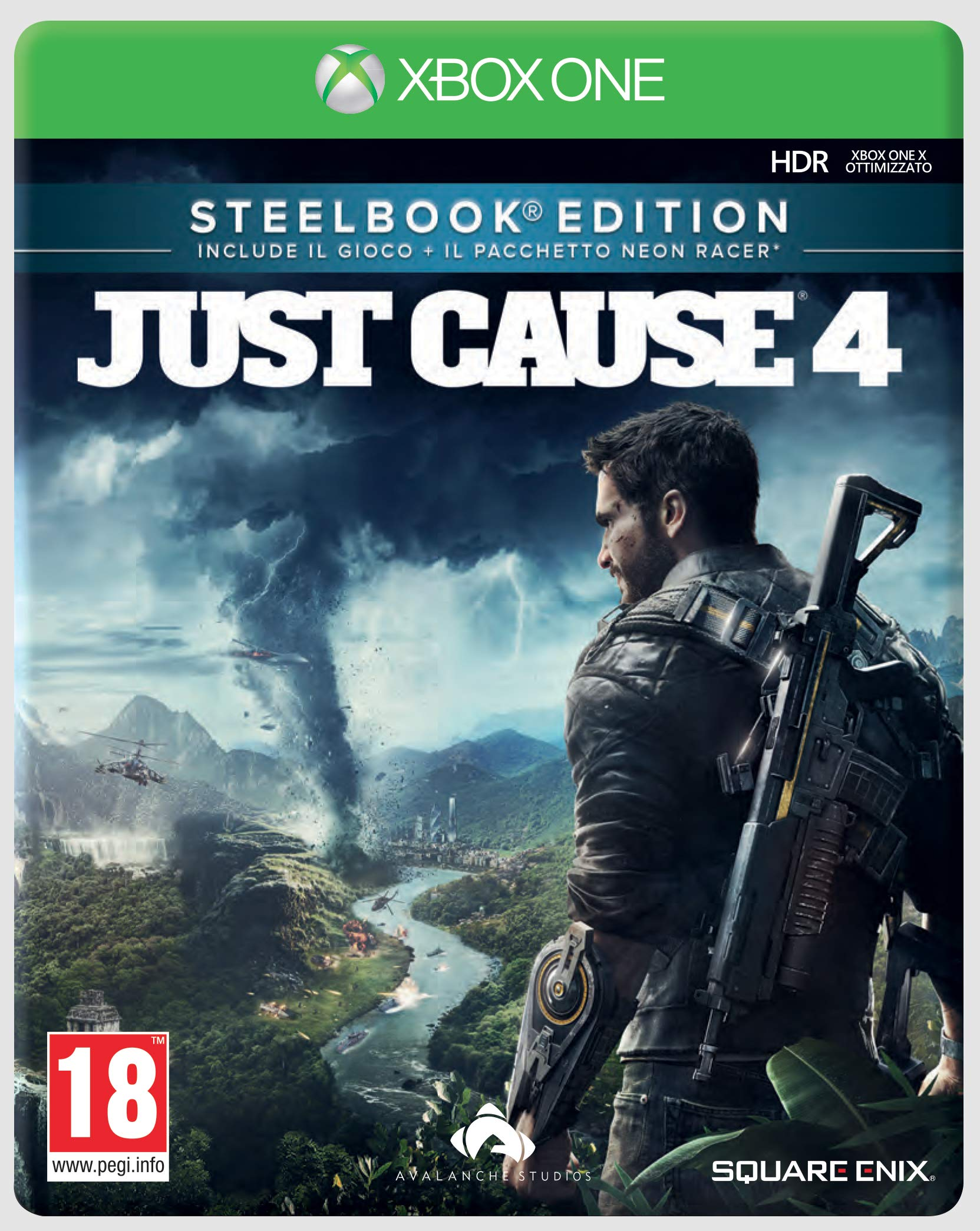 Just Cause 4 - Steelbook Edition - Xbox One [Importación italiana ...