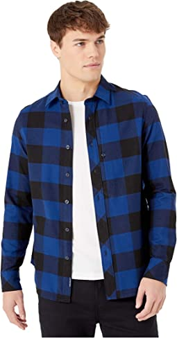 Dark Black/Imperial Blue Check
