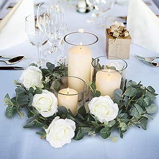 Blissful Moment Eucalyptus Garland Wedding Décor Wedding Centerpieces Decorations for Tables Backdrop Arch Wall Décor