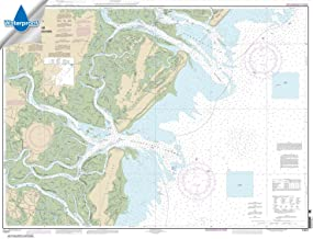 Paradise Cay Publications NOAA Chart 11511: Ossabaw and St. Catherines Sounds 33.5 x 43.8 (WATERPROOF)