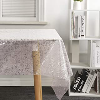 Best sheer snowflake tablecloth Reviews