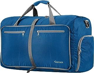 Gonex 33L Sac de Voyage Pliable en Nylon Hydrofuge pour Voyage Sport Gym Camping