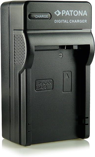 Patona® LP-E8 - Cargador 3 en 1 para Canon EOS 550D 600D 650D 700D Rebel T2i Rebel T3i Rebel T4i Rebel T5i etc.