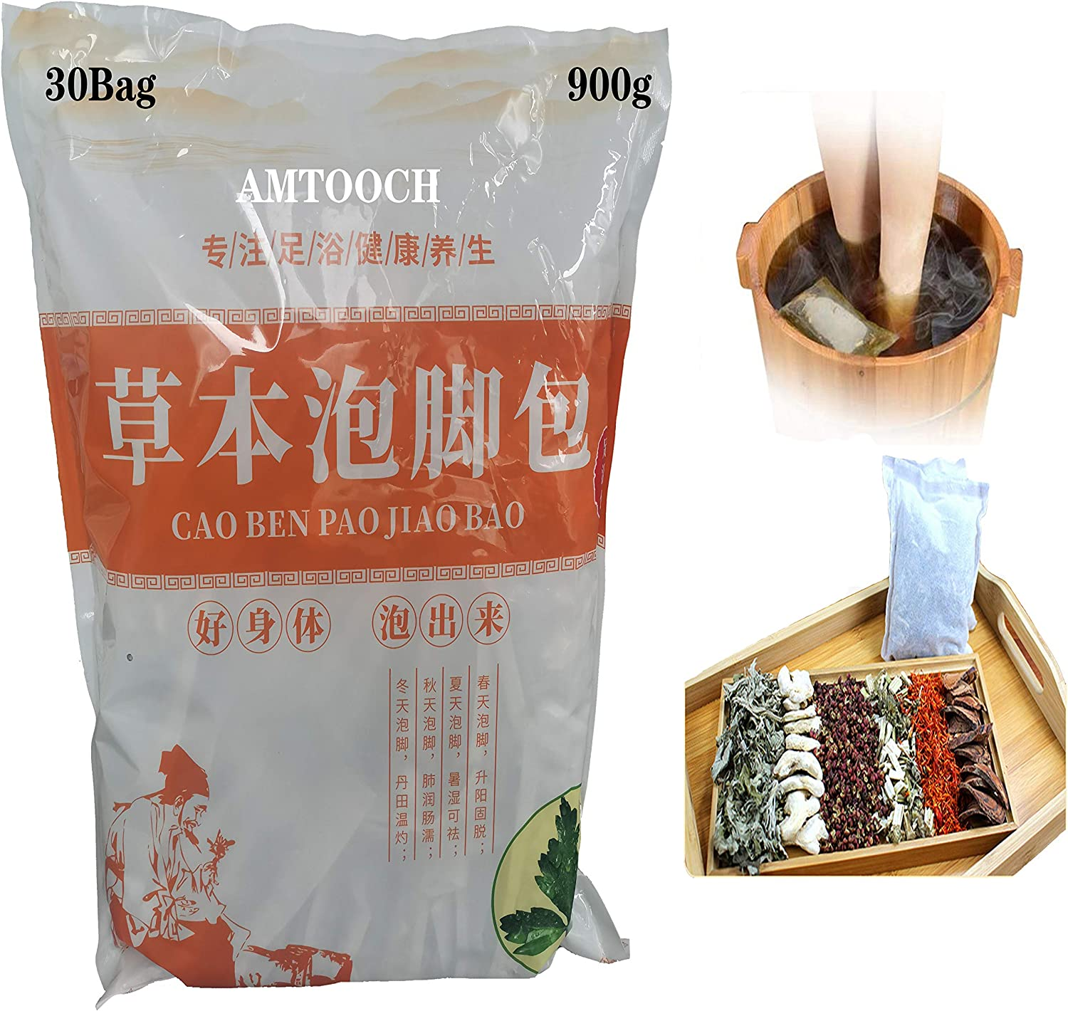 6Favors of Foot Bath Herb Ranking integrated 1st place Long Beach Mall Medicine Herbal spa Soak Chinese