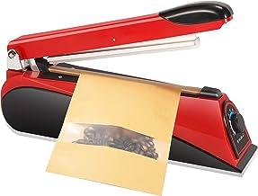 Hanchen Impulse Heetsigelmachine, 8 inch, 200 mm, handdruk-verzegelingsmachine, levensmiddelensealer, filmzak, verpakkings...