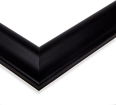 ArtToFrames NM-10x30-D9582-1 19x19 Gilded Edged Wood Frame, 10 x 30, Black