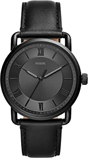 Fossil Men's Copeland Stainless Steel Quartz Watch with...