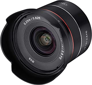 ROKINON AF 18mm F2.8 Wide Angle auto Focus Full Frame Lens for Sony E Mount