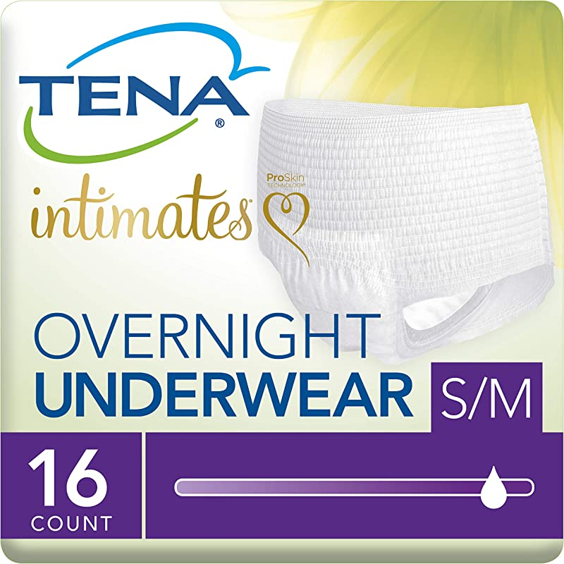Tena Incontinence Underwear For Women For Overnight Medium 64 Count Pack Of 4