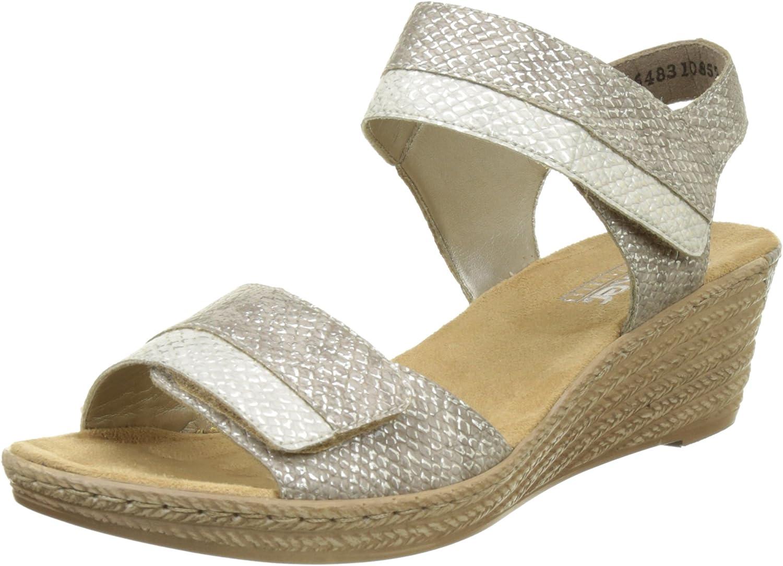 Women's Rieker, Fanni 62470 Mid Heel Sandals