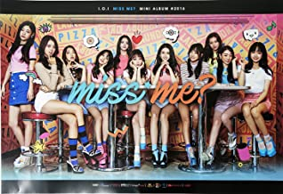 YMC Entertainment I.O.I IOI - Miss Me? (2nd Mini Album) [Official Poster] 29.5 x 20.5 inches