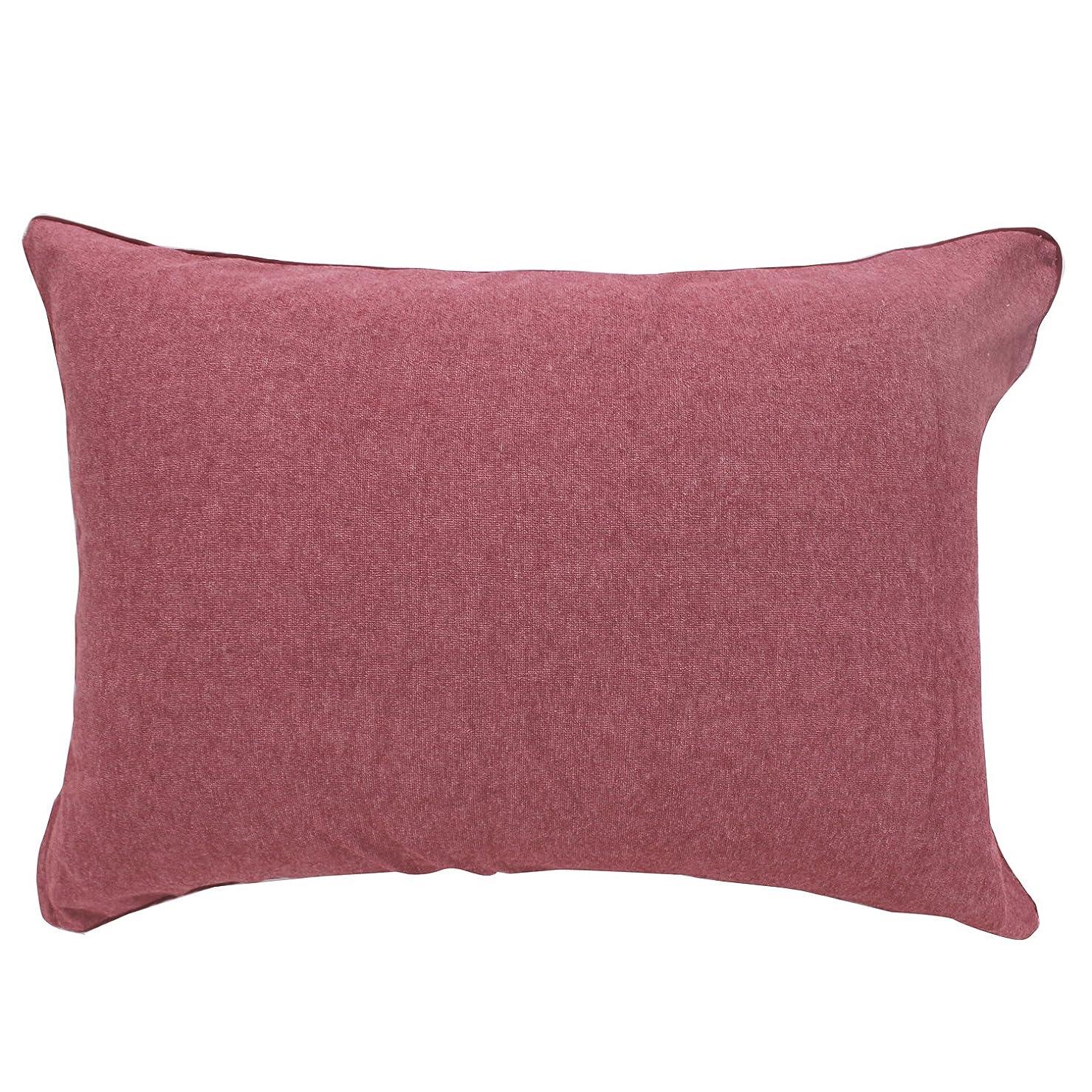 くそードラゴン本部メリーナイト(Merry Night) 抗菌防臭加工 パイル素材 枕カバー 35×50㎝ レッド NE3516-13