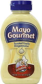 Woebers Mayonnaise, Toasted Garlic, 11 Ounce